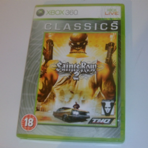 XBOX 360 Saints row 2 game boxed complete